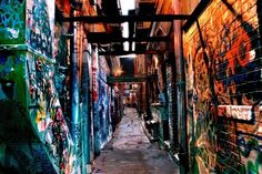Ann Arbor, Michigan | 32 Enchanting Alleys To Get Lost Down Around The World
