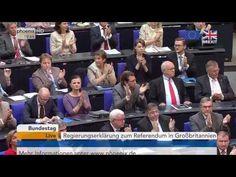 Brexit Votum  Regierungserklärung von Angela Merkel am 28 06 2016 in Berlin