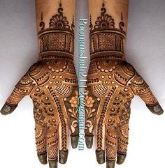 """2,347 Likes, 21 Comments - Poonam mehendi (@poonammehendi_hennaartist) on Instagram: """"#mehendi #henna #bridal #design #mumbai #mulund #art…"""""""
