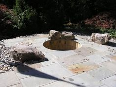 Outdoor Fire Pit Design And Installation By Urban Gardens Inc