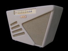 Area 51's ultra cool retro-futuristic Model Two Amplifier! Apparently as rare as Hen's teeth. A beauty and on my Want List!