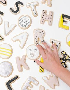 Amazing cookies and amazing nails. Want both.