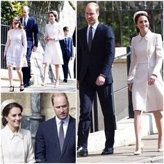 #News The Duke and Duchess of Cambridge join the Queen for the Easter Mattins Service at St George's Chapel, Windsor Castle this morning. Happy Easter everybody!   via ✨ @padgram ✨(http://dl.padgram.com)