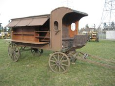 Horse Drawn Library Wagon