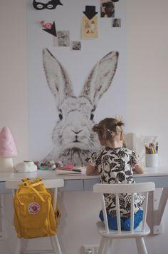 Ese poster imantado de conejo me enamoró!