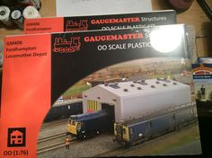 2 x Fordhampton Depots by Faller , marketed by Guagemaster  Acquired 24/09/16 from Hattons Merseyside in the sales