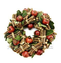 Veniec na dvere Fall Wreaths, Easter Wreaths, Christmas Wreaths, Wreaths For Front Door, Door Wreaths, How To Purl Knit, Summer Wreath, Amigurumi Patterns, Pattern Making