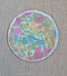 Mini Quilt of the Month, February: Liberty of London Tana Lawn Circular Applique | The Purl Bee