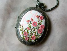 Spring that never goes away Locket Flowers by StoriesMadeByHands