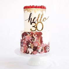 The Buttercream Bakery is a Sydney based business which creates deliciously beautiful cakes for weddings, birthdays, christenings and all other occasions. Buttercream Bakery, Order Cupcakes, Cake In A Cone, Edible Printing, 30 Birthday Cake, Brookies, Colorful Cakes, French Pastries, Hey Girl