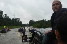 louisiana flooding 2016 - Yahoo Image Search Results  out of the water, the method doesn't matter - truck, car, boat must have landing spot somewhere!