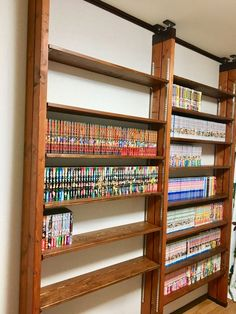 Flat Interior, Interior Garden, Diy Interior, Interior Decorating, Diy Storage Cabinets, Kids Bed Frames, Otaku Room, Kawaii Room, Bookshelf Design