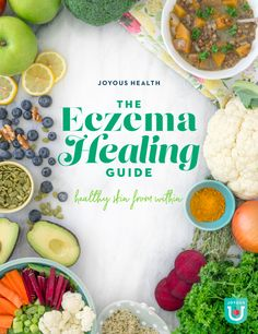 The Joyous Health Eczema Healing Guide is naturally focused and researched so you can get to the root of your eczema issues and resolve them for GOOD! Nutrition Information, Nutrition Tips, Health And Nutrition, Health Tips, Joyous Health, Work Meals, Superfood Recipes, Health Shop
