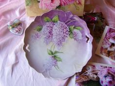 Lilac plate