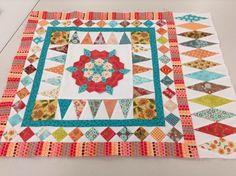 Karenatsomerset version of Karen Styles pattern for Mrs. Billings Coverlet