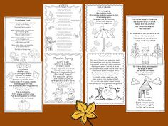 Creative Lesson Cafe: Fall Poetry and Decorating for Halloween