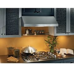 View the Broan APE130SS APE1 Series 30 Inch 440 CFM Under Cabinet Range Hood with Heat Sentry at Build.com.