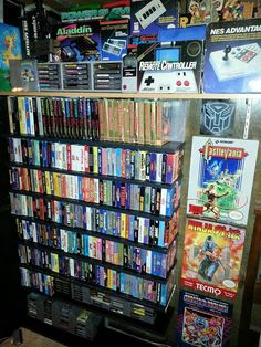 Nintendo wall