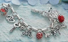 Spring Collection - Charms for Travel, Friendship, Nature and More #JamesAvery