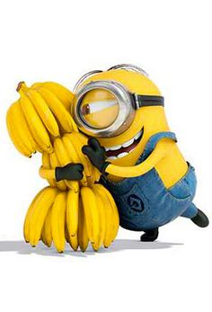 minion // despicable me BANANA! Love the minions. Cute Minions, Minion Movie, Minions Despicable Me, Minions 2014, Minion Rock, My Minion, Minion Humor, Minion Birthday, Minion Party