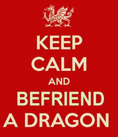 Keep Calm sign for Dragon Lovers, created by me.
