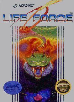 """Life Force"" - Nintendo Entertainment System (1987)"