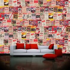 Colorful-Art-living-Room-Wall-Decals-Ideas.jpg (801×801)
