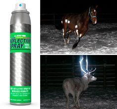 Merkintämaalit | Marking paints - Laadukkaat merkintämaalit, kuten heijastinspray eläimille sekä heijastinspray tekstiileille. Heijastava spray koville pinnoille sopii niin lastenvaunujen runkoon kuin polkupyöriin, postilaatikoihin ja portteihinkin. Monikäyttöiset heijastinsprayt parantavat näkyvyyttä pimeässä ja näin myös parantavat turvallisuutta. Reflective spray. - Virtasenkauppa - Verkkokauppa - Online store.