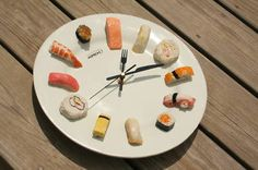Its always sushi time!