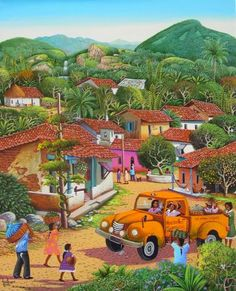 The Village Transport by Fausto Perez