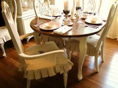 Enchanting Dining Room Seat Covers