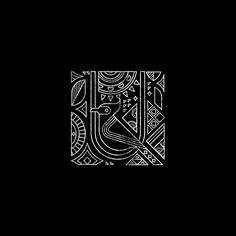 Art deco design pattern illustrations Ideas for 2019 Geometric Graphic Design, Geometric Pattern Design, Geometric Art, Geometric Sleeve, Tribal Pattern Art, Tribal Bird Tattoos, Tattoo Bird, Web Design, Indian Folk Art