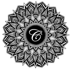 """C"" mandala #mandalas #mandala #zentangle #draw #drawing #art #sketch #doodle #dailyartistiq #art_collective #artsanity #artist_publicity #artist #artfido #dailydrawing #tattoodesign #tattoo #artacademy #artofinstagram #artofdrawing #artsanity #arts_help #sketch_daily #awesomearts #dailydrawoff #artofdrawingg #artsnewss #art_whisper #arts_gallery #worldofartists"
