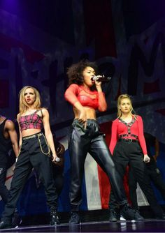 Leigh-Anne Pinnock Jade Thriwall and Perrie Edwards