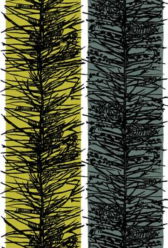 larch fabric, lucienne day I pinned this way back its just a favourite of mine.