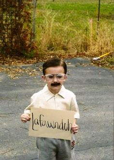 Kip costume... I'm dying right now.