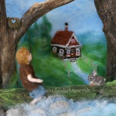 Hansel & Gretel: A Fairy Tale with a Down by ClaudiaMarieFelt