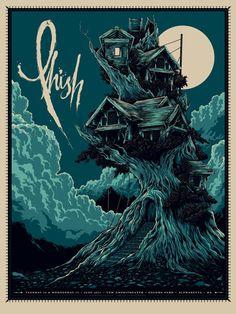 The work of Ken Talor: Phish Gig Poster
