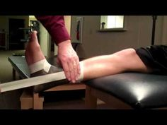 Video tutorial on how to properly tape an ankle for support