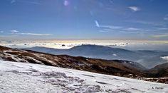 El Mediterráneo desde el Cerro del Caballo Sierra Nevada