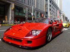 F40 basado en el desaparecido grupo B y creado con bases del Ferrari 288 GTO Evoluzione.