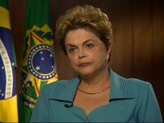osCurve Brasil : Em entrevista à rede americana CNN, a presidente D...