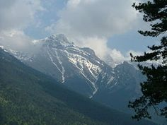 Mount Olympus is the highest mountain in Greece, located on the border between Thessaly and Macedonia.