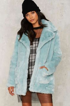292019cee600 Love on the Brain Faux Fur Jacket - Clothes. Daphne Blunt