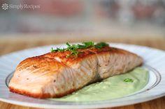Cedar salmon pasta recipe