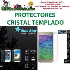 Nueva entrada en stock de protectores de pantalla cristal templado:  - Samsung A3, A5, E5, E7, N910 note 4... - iPhone 6, iPhone 6 plus... - Sony Xperia Z2, Z3, Z3 compact...  La mejor calidad al mejor precio en www.MOVILCONSOLAS.com  MOVILCONSOLAS SL Ronda de San Agustín 63 A-1 41400 Écija Sevilla Tfno.: 95 483 03 05 - 680 21 04 05 (Whatsapp) info@movilconsolas.com