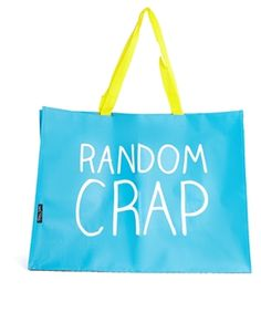 Happy Jackson – Random Crap – Mittelgroße Tasche