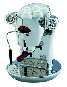 elektra Nivola coffee machine Polished aluminium for powder 2012 Ed.