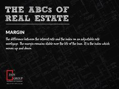 Real Estate jargons simplified Visit us at: www.thejaingroup.com