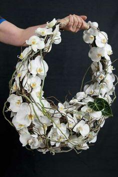 Bruidsboeket vrije vorm hand held bouquet